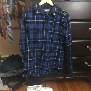 Bonobos Men's medium slim flannel shirt